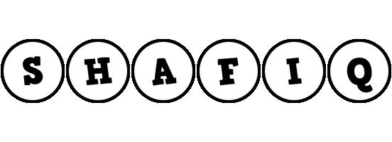 Shafiq handy logo