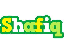 Shafiq soccer logo