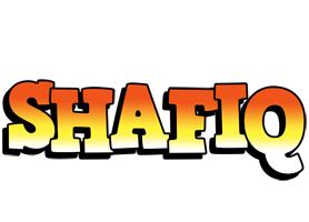 Shafiq sunset logo