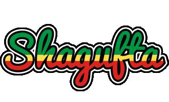 Shagufta african logo