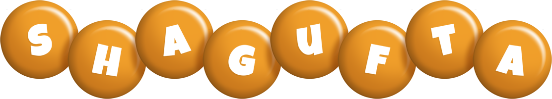 Shagufta candy-orange logo