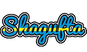Shagufta sweden logo