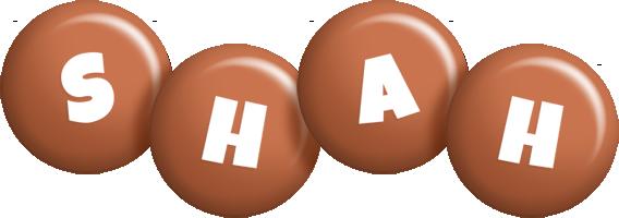 Shah candy-brown logo