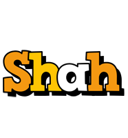 Shah cartoon logo