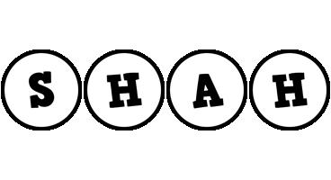 Shah handy logo