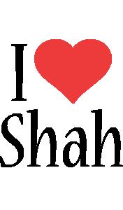 Shah i-love logo