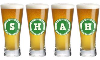 Shah lager logo