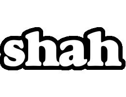Shah panda logo