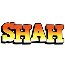 Shah sunset logo