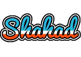 Shahad america logo