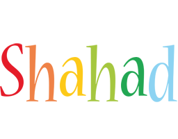 Shahad birthday logo