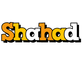 Shahad cartoon logo