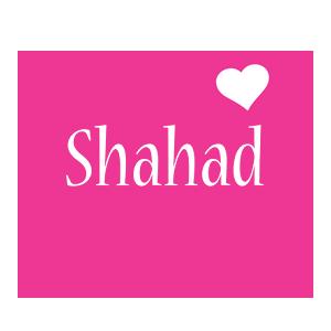 Shahad love-heart logo