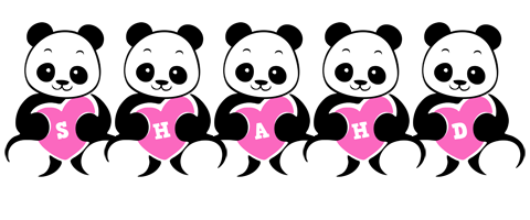Shahd Logo Name Logo Generator Popstar Love Panda Cartoon