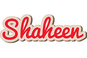 Shaheen chocolate logo