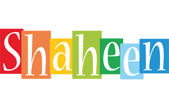 Shaheen colors logo