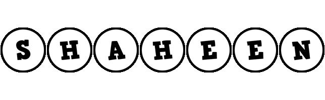 Shaheen handy logo