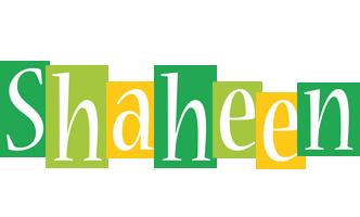 Shaheen lemonade logo