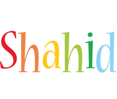 Shahid birthday logo