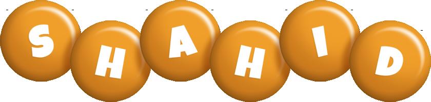 Shahid candy-orange logo