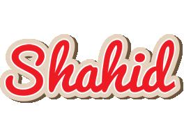 Shahid chocolate logo