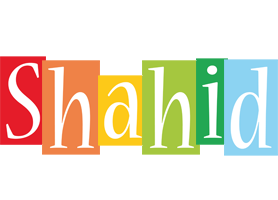 Shahid colors logo