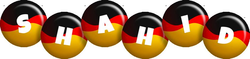Shahid german logo