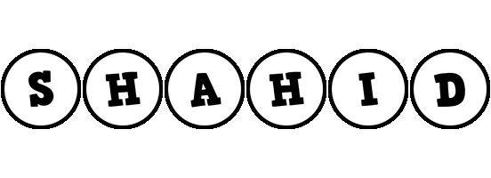 Shahid handy logo