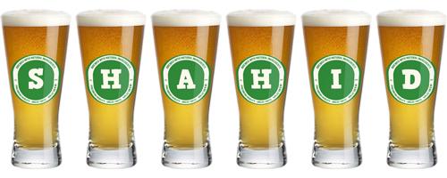 Shahid lager logo