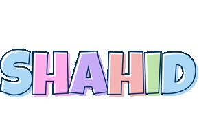 Shahid pastel logo
