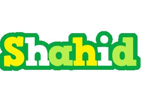 Shahid soccer logo