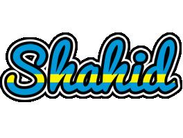 Shahid sweden logo