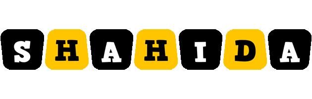 Shahida boots logo