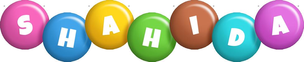Shahida candy logo