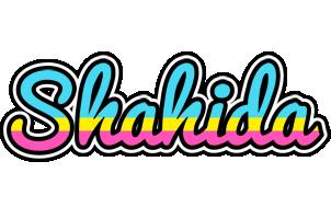 Shahida circus logo
