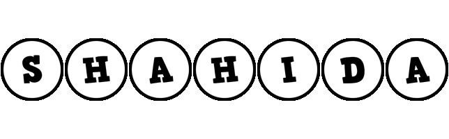 Shahida handy logo