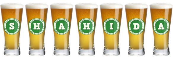 Shahida lager logo