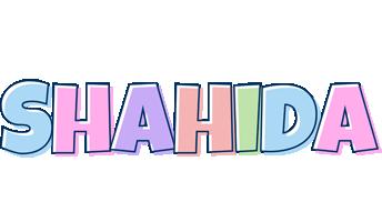 Shahida pastel logo