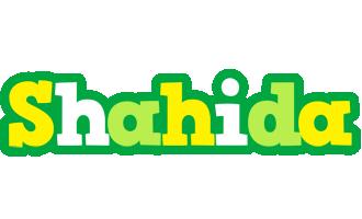 Shahida soccer logo