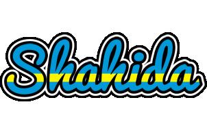 Shahida sweden logo