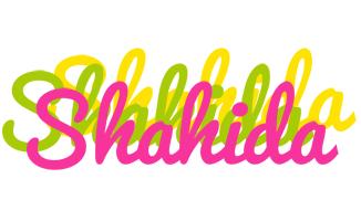Shahida sweets logo