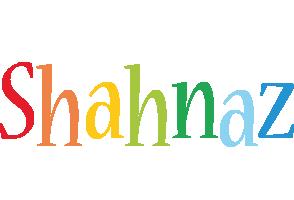Shahnaz birthday logo