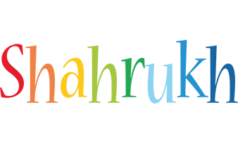 Shahrukh birthday logo
