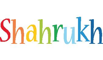 Shahrukh birthday logo