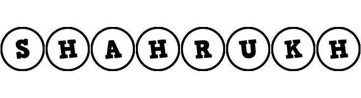 Shahrukh handy logo