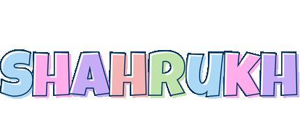 Shahrukh pastel logo