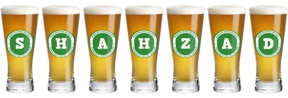Shahzad lager logo