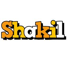 Shakil cartoon logo