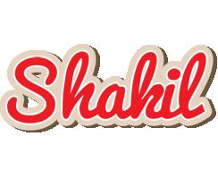 Shakil chocolate logo