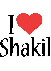 Shakil i-love logo